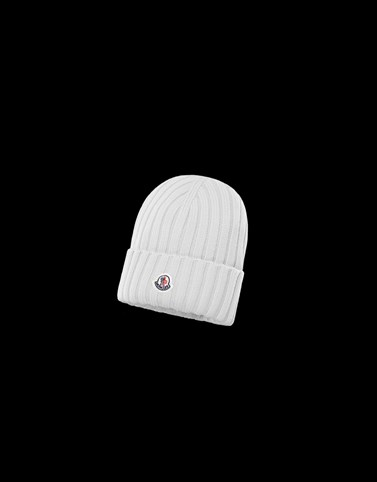 HAT White Category BEANIES Woman