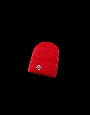 HAT Red Category BEANIES Woman