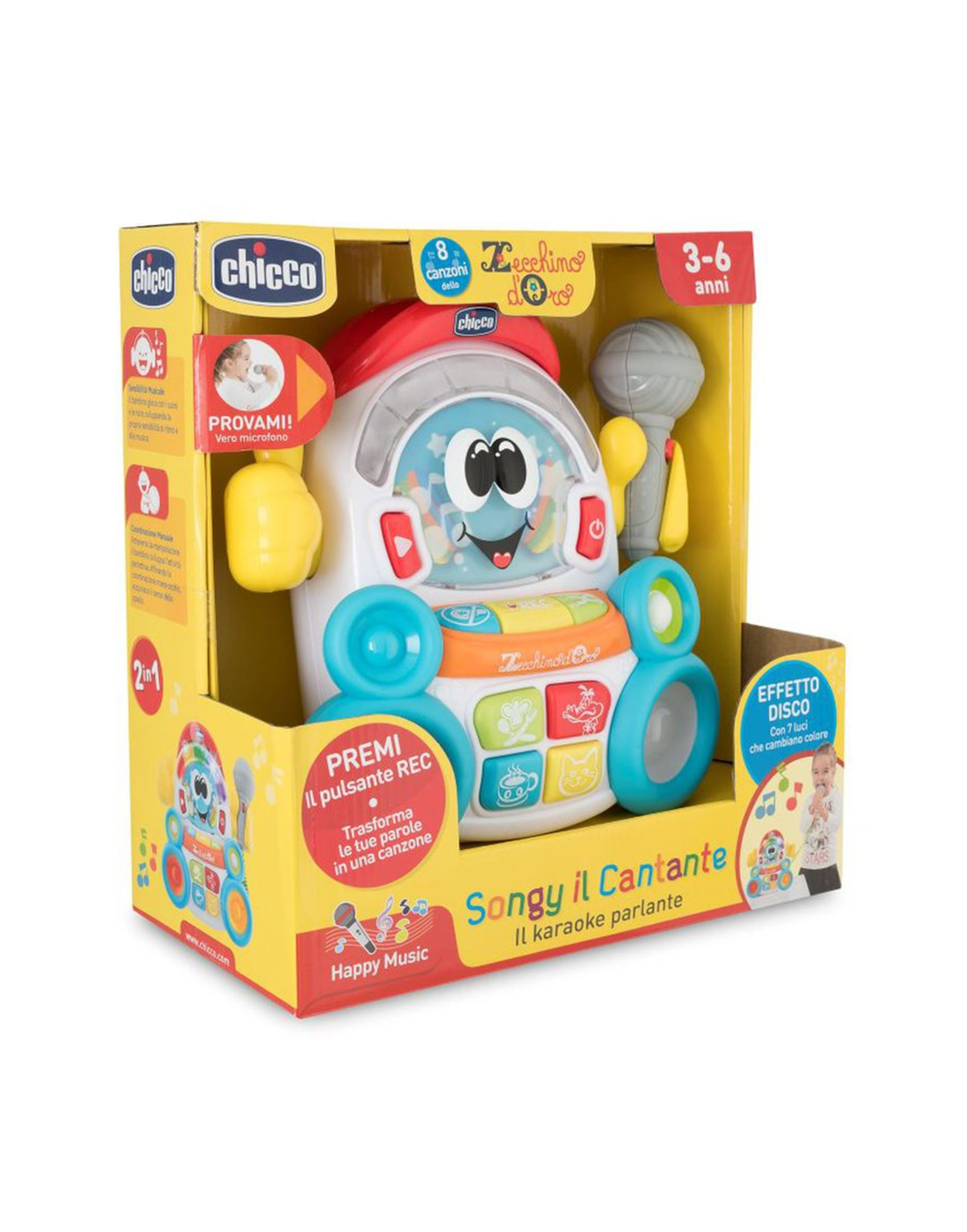 CHICCO Музыкальные игрушки