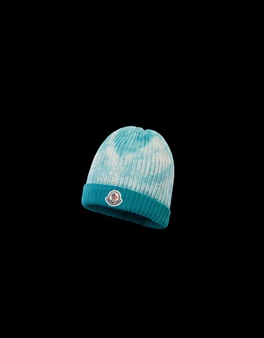 HAT Sky blue Category BEANIES Man