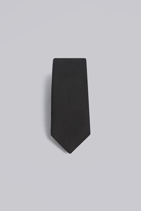 DSQUARED2 Homme Cravate Noir Taille OneSize 56% Soie 44% Coton