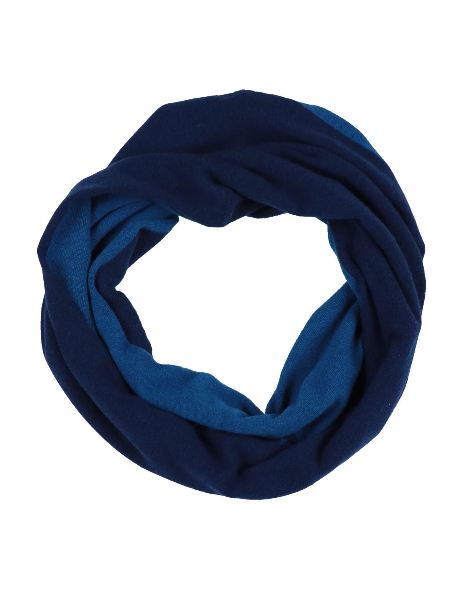 《セール開催中》GIORGIO ARMANI メンズ ネックカラー ダークブルー one size ウール 70% / カシミヤ 30%