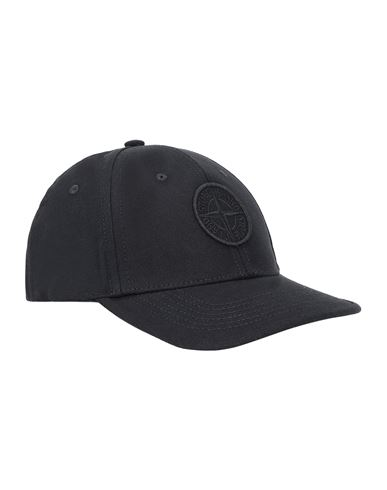 STONE ISLAND KIDS 90265 Cap Man Black USD 67