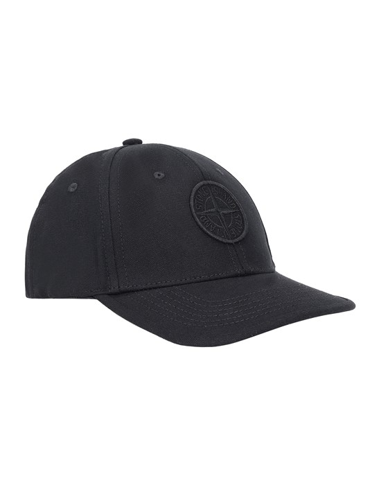 STONE ISLAND KIDS 90265 Cap Man Black