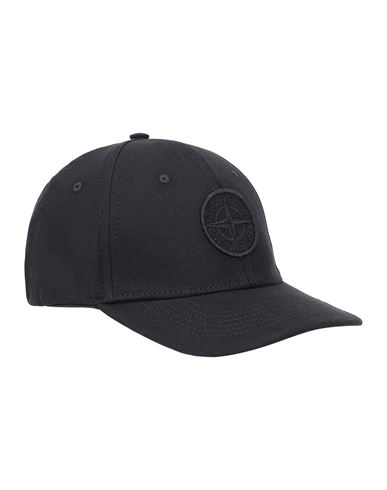 STONE ISLAND JUNIOR 90265 Cap Man Black EUR 53
