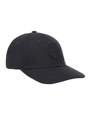 STONE ISLAND BABY 90265 Cap Man Black EUR 68