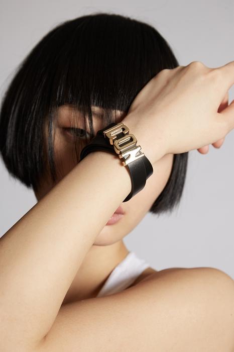 Bracelet Taille OneSize 100% Cuir de veau Laiton - Dsquared2 - Modalova