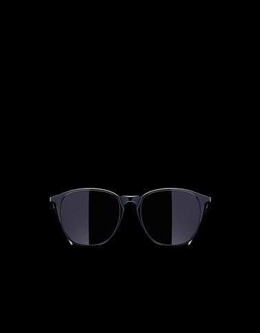 圆框太阳镜 黑色 Eyewear 男士