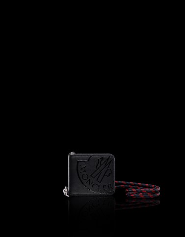 WALLET Black Small leather goods Man