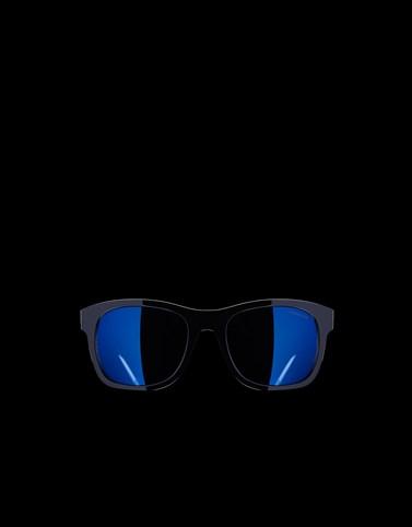 方框太阳镜 黑色 Eyewear 男士