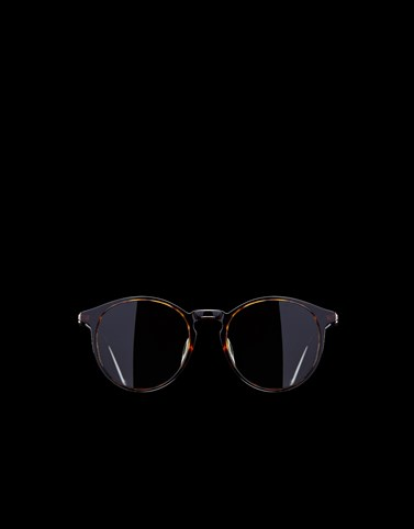 UNISEX SUNGLASSES Brown Eyewear Man