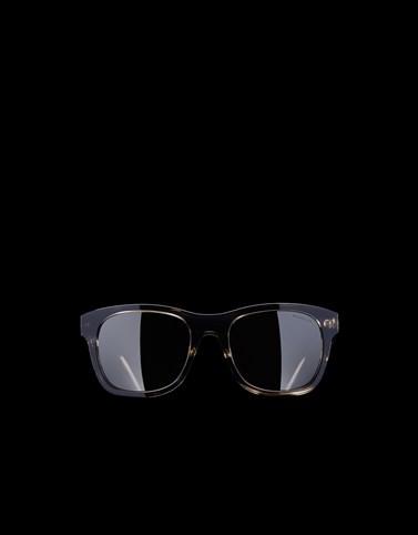 サングラス ロゴテンプル ダークブラウン アイウェア メンズ