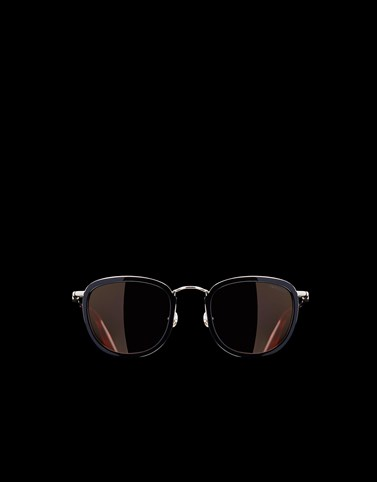 METAL SUNGLASSES Dark brown Eyewear Woman
