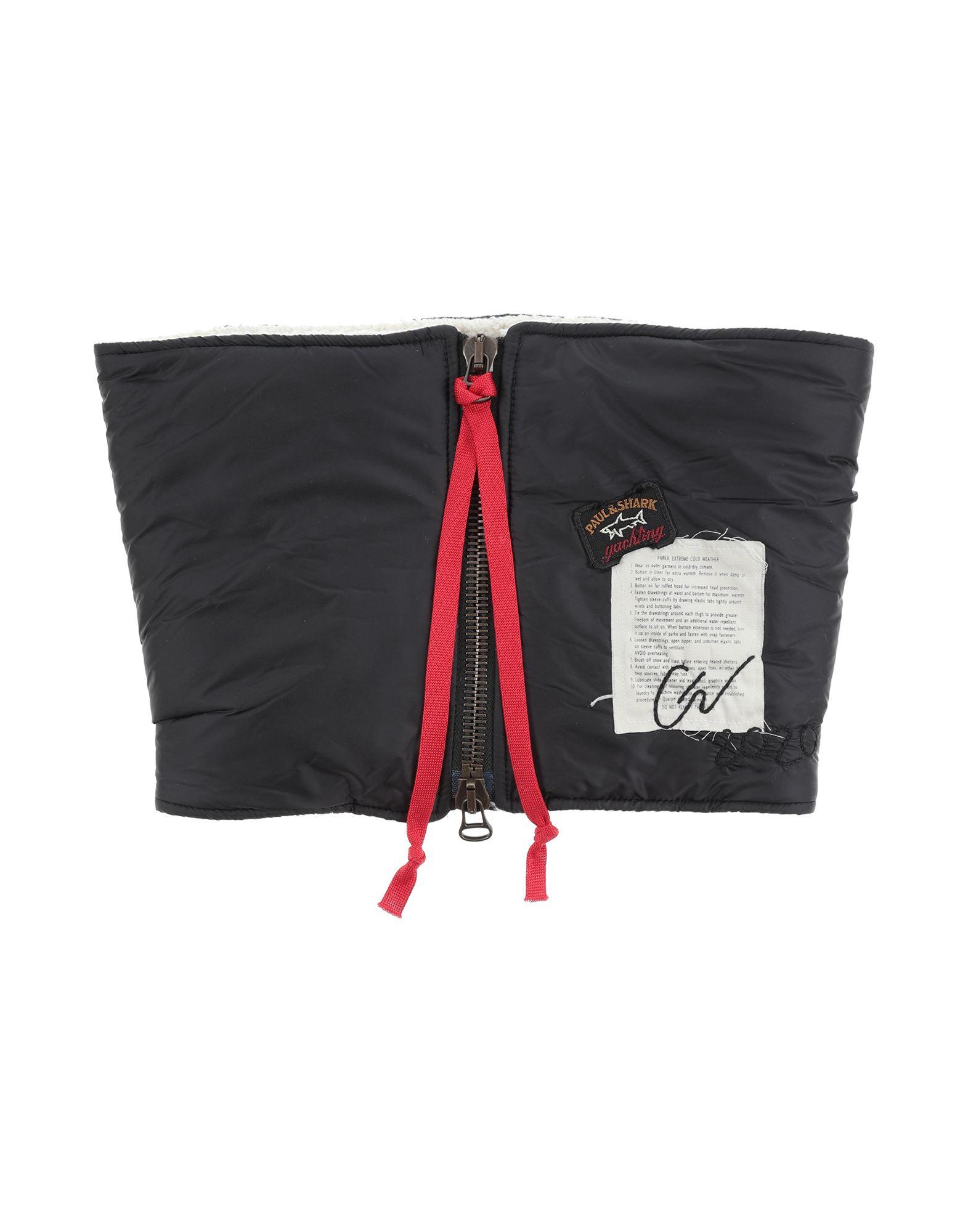 《セール開催中》PAUL & SHARK メンズ ネックカラー ブラック one size ナイロン 100%