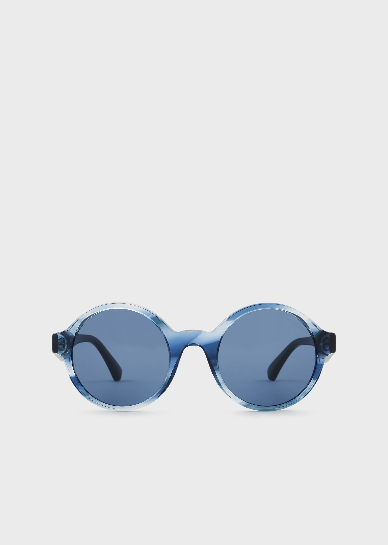 EMPORIO ARMANI Women's round sunglasses