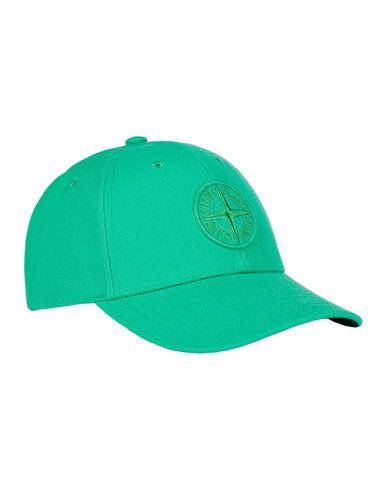 STONE ISLAND 99675 WOOL POLYESTER GABARDINE Cap Man Green USD 179