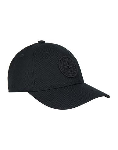 STONE ISLAND 99475 WOOL POLYESTER GABARDINE  Cap Man Black EUR 105