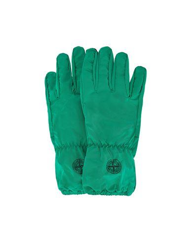 STONE ISLAND 92077 NYLON METAL Gloves Man Green EUR 149