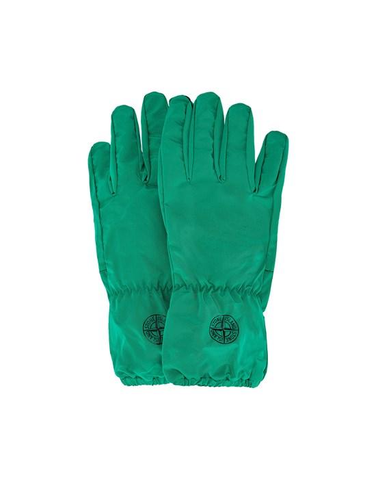Gloves Man 92077 NYLON METAL Front STONE ISLAND