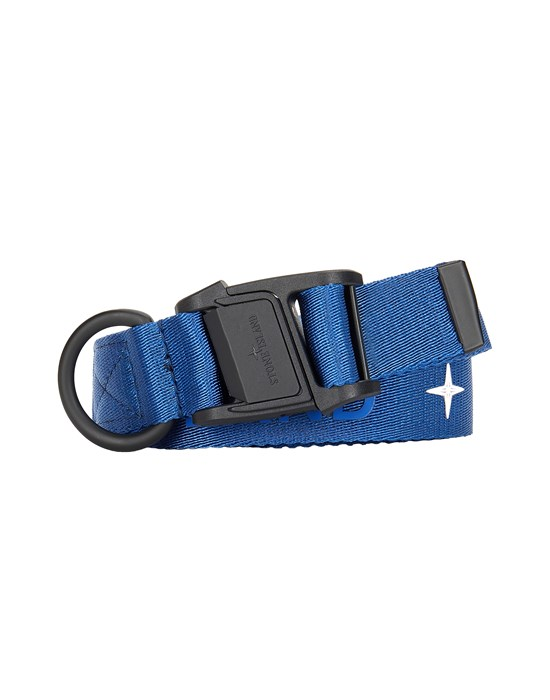 Belt Man 94464 NYLON TAPE WITH S.I. LETTERING Front STONE ISLAND