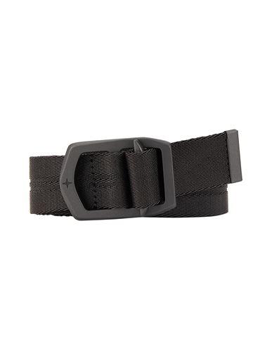 STONE ISLAND 94163 NYLON TAPE Belt Man Black EUR 149