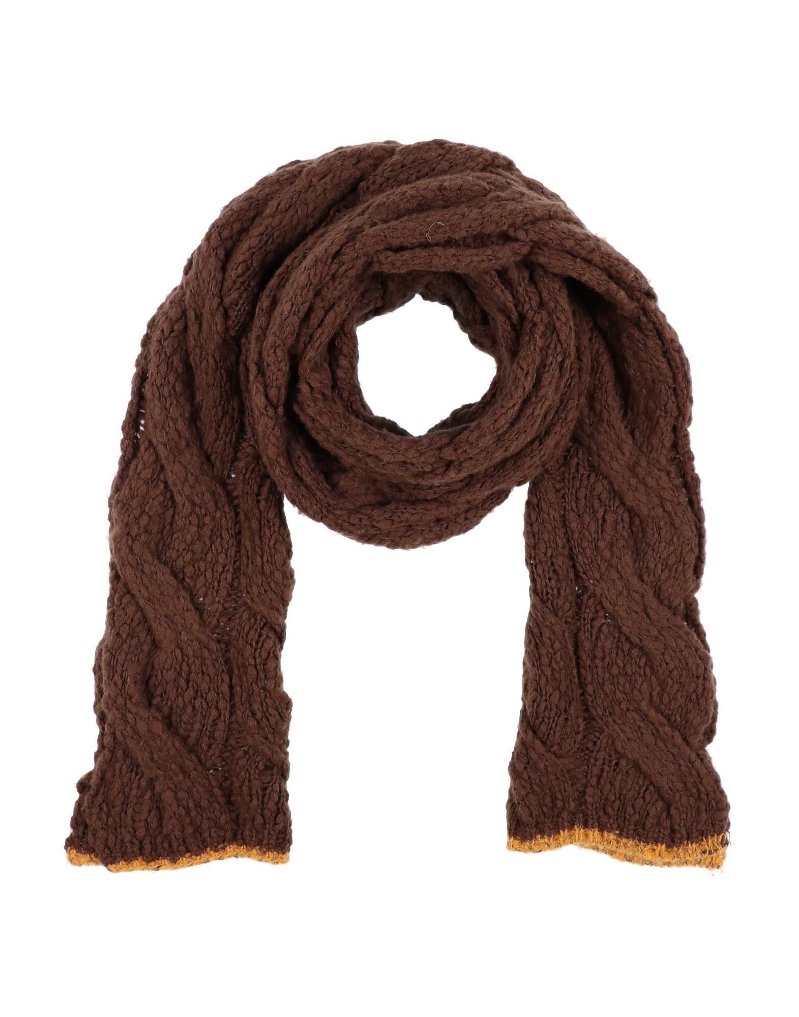 Suoli Scarves In Brown