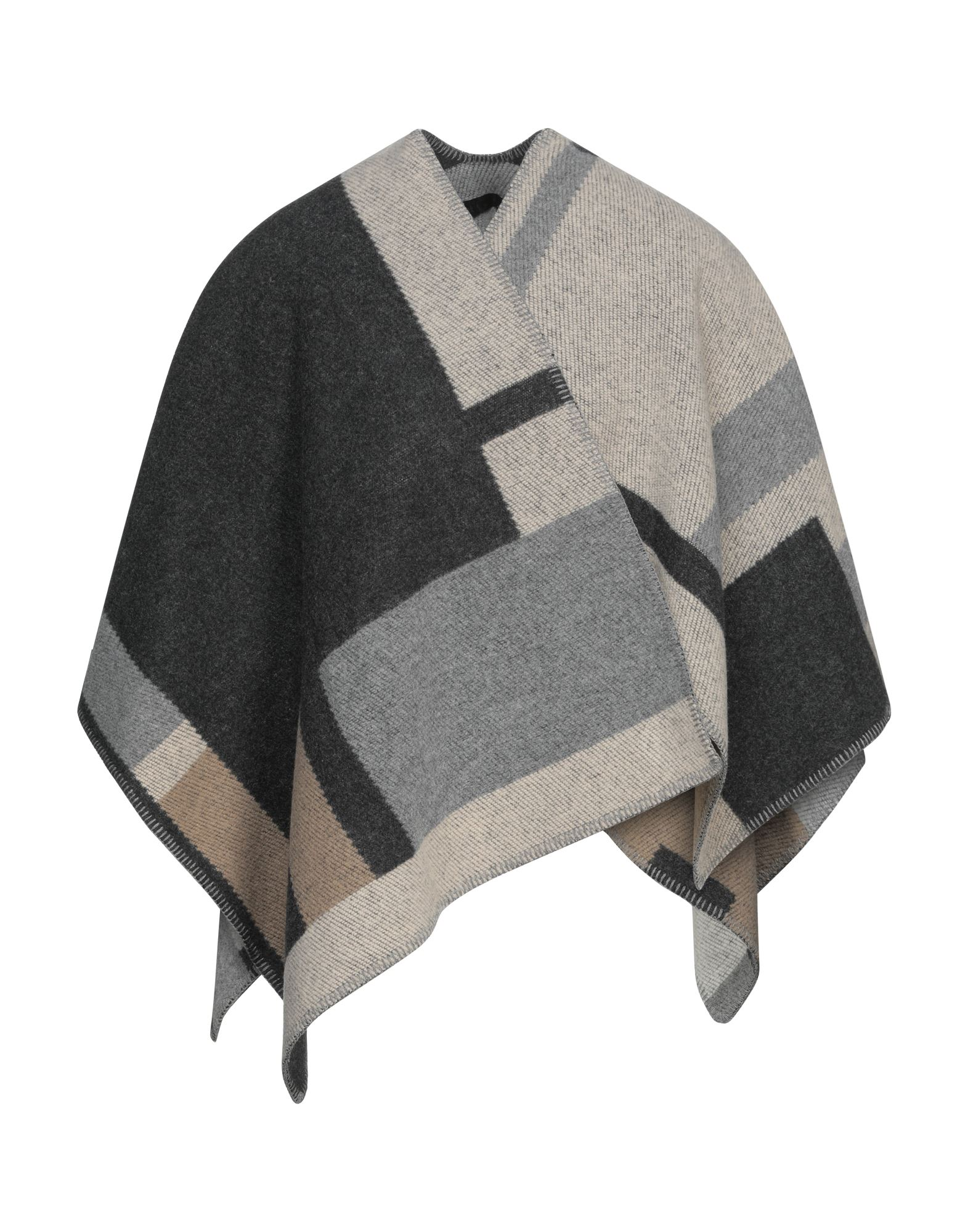 Burberry Capes & Ponchos In Gray