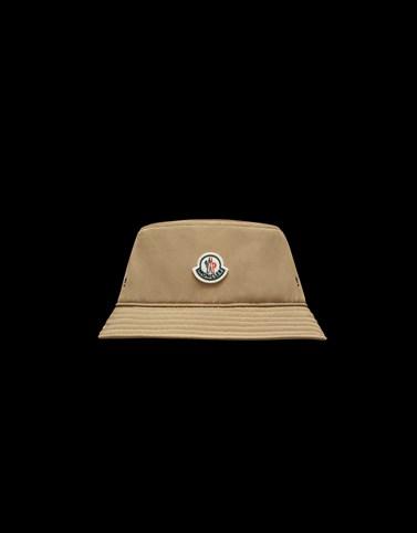 BUCKET HAT ライトブラウン ハット レディース