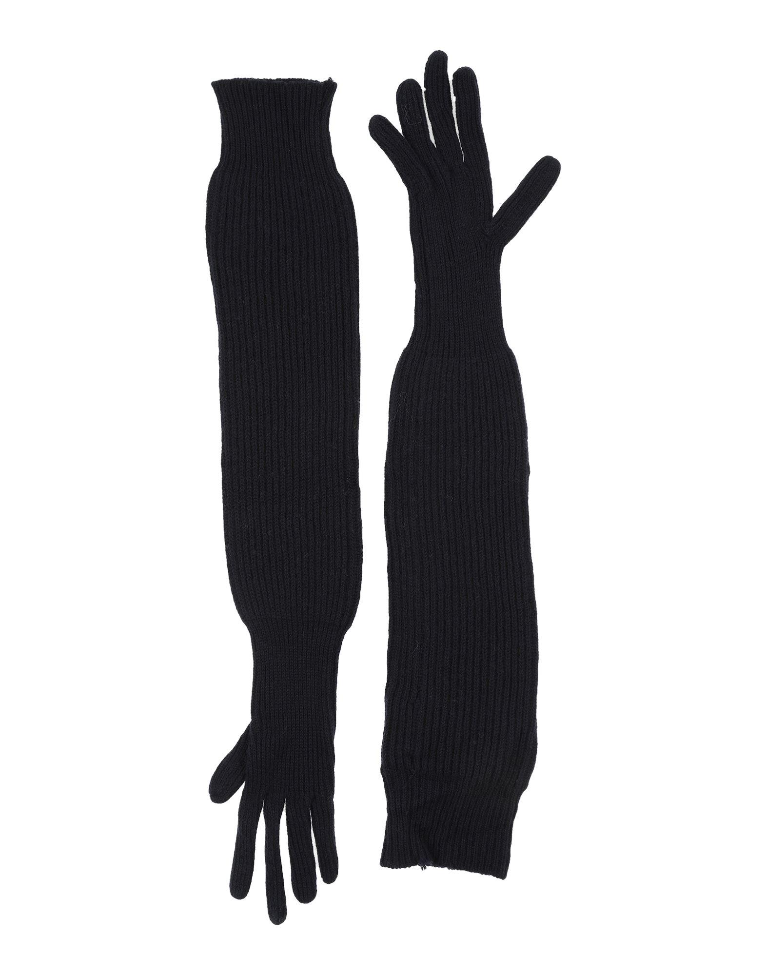 Prada Gloves In Dark Blue