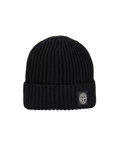 STONE ISLAND KIDS N07A5 Hat Man Black EUR 95
