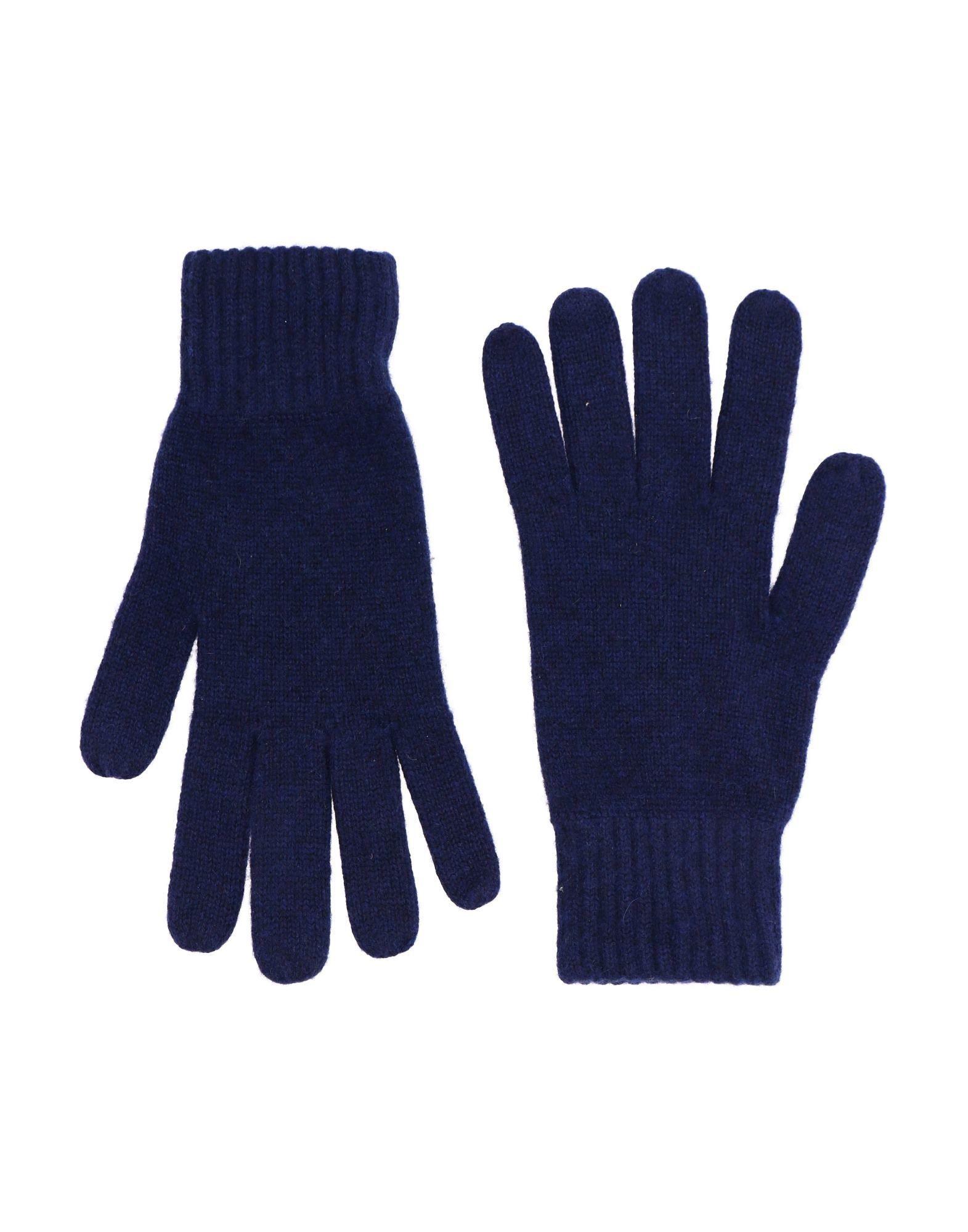 Simon Gray. Gloves In Dark Blue