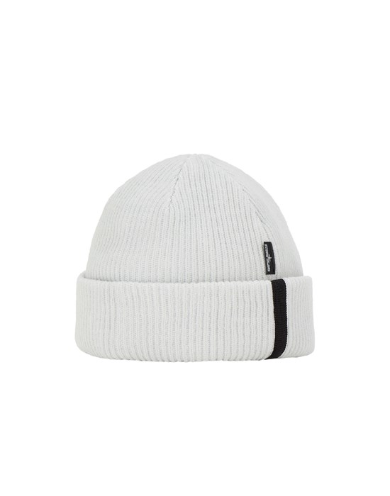STONE ISLAND SHADOW PROJECT N01A5 STRETCH WOOL_CHAPTER 1 Hat Man Ivory