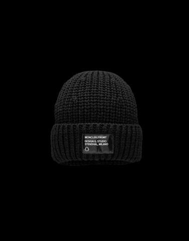 针织帽 黑色 帽子 女士