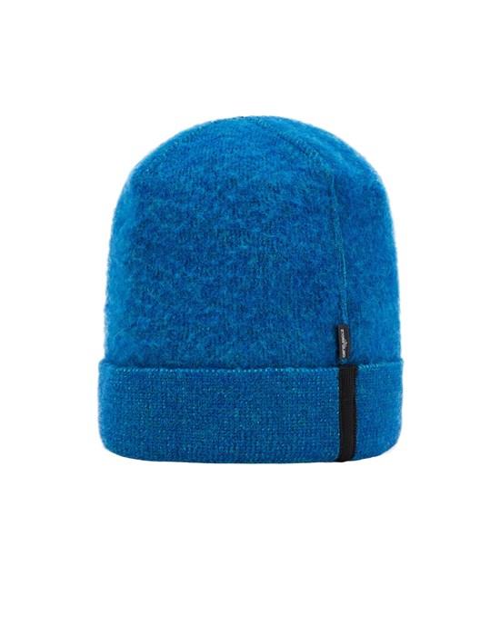 STONE ISLAND SHADOW PROJECT N02A4 WOOL/COTTON,VANISÉ, GAUZED OUTSIDE_CHAPTER 1 & CHAPTER 2 Hat Man Ultramarine Blue
