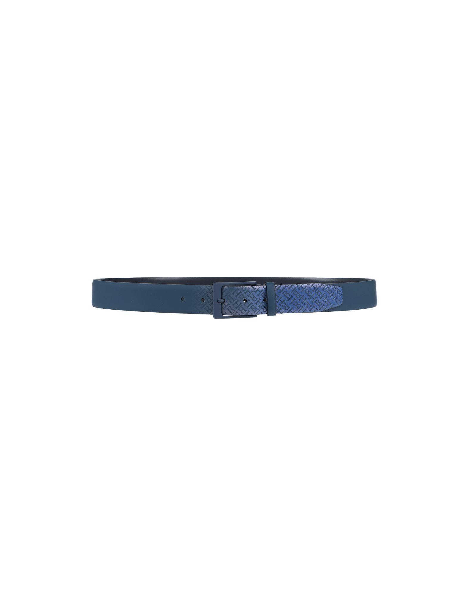 HARMONT&BLAINE メンズ ベルト ブルー