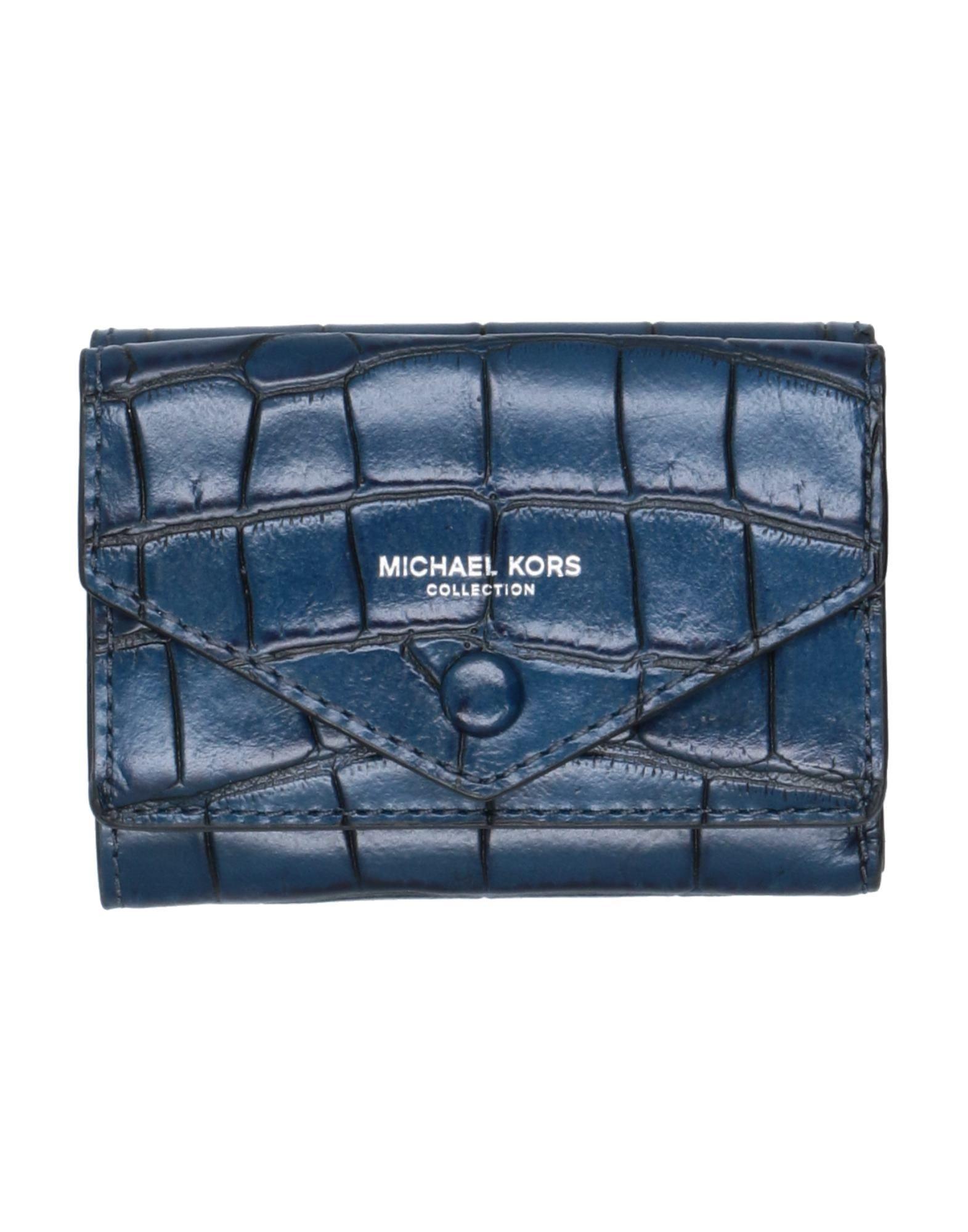 MICHAEL KORS COLLECTION マイケル・コースコレクション レディース 小銭入れ ブルー