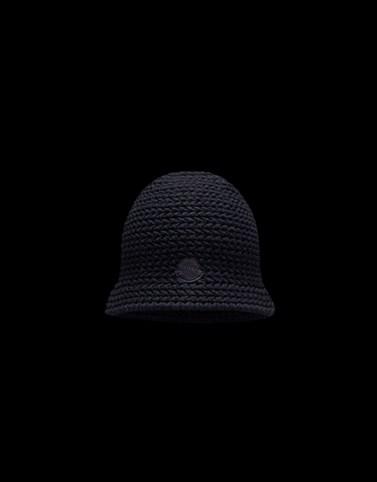 羊毛帽 黑色 2 Moncler 1952 男士