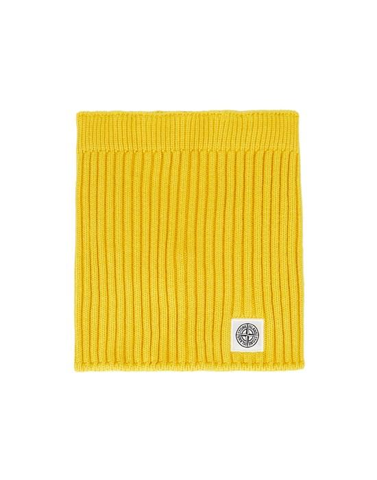 STONE ISLAND JUNIOR N15A9 Scarf Man Yellow