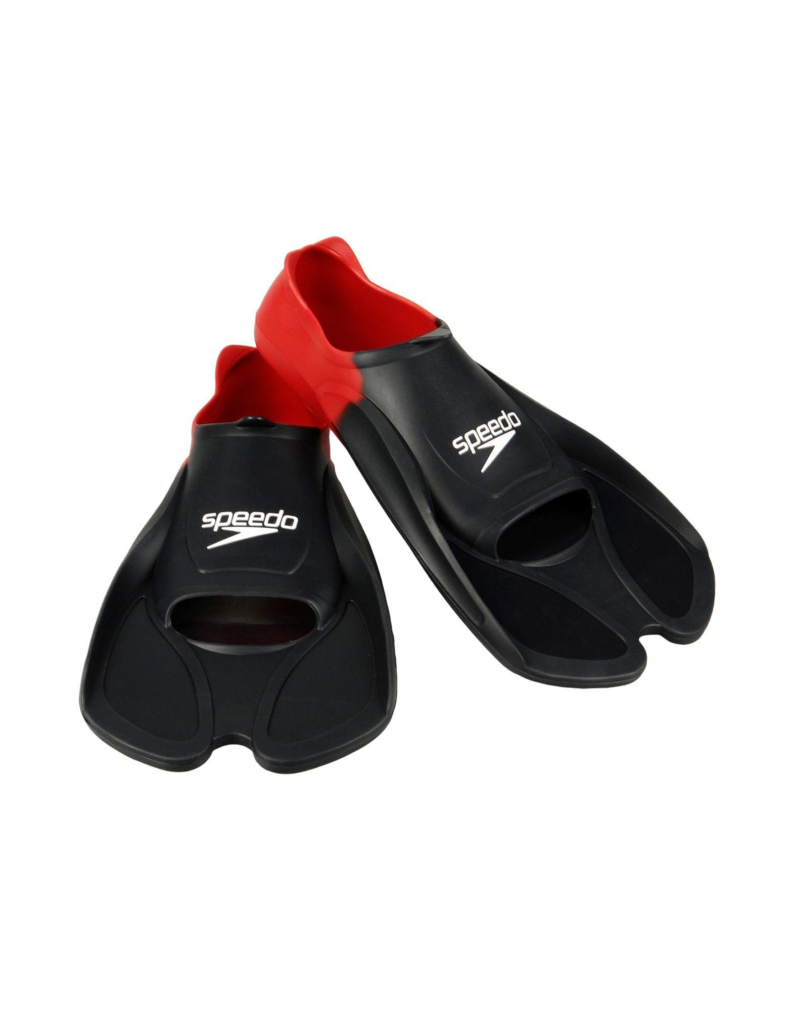 《期間限定 セール開催中》SPEEDO メンズ 水泳用具 ブラック 44 ゴム BIOFUSE FIN AU RED/BLACK