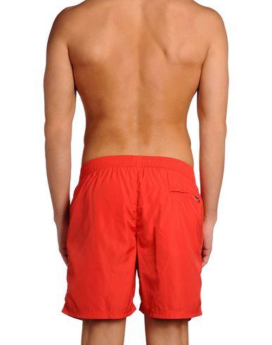 BLUEMINT Herren Badeboxer Rot Größe XXL 100% Polyester