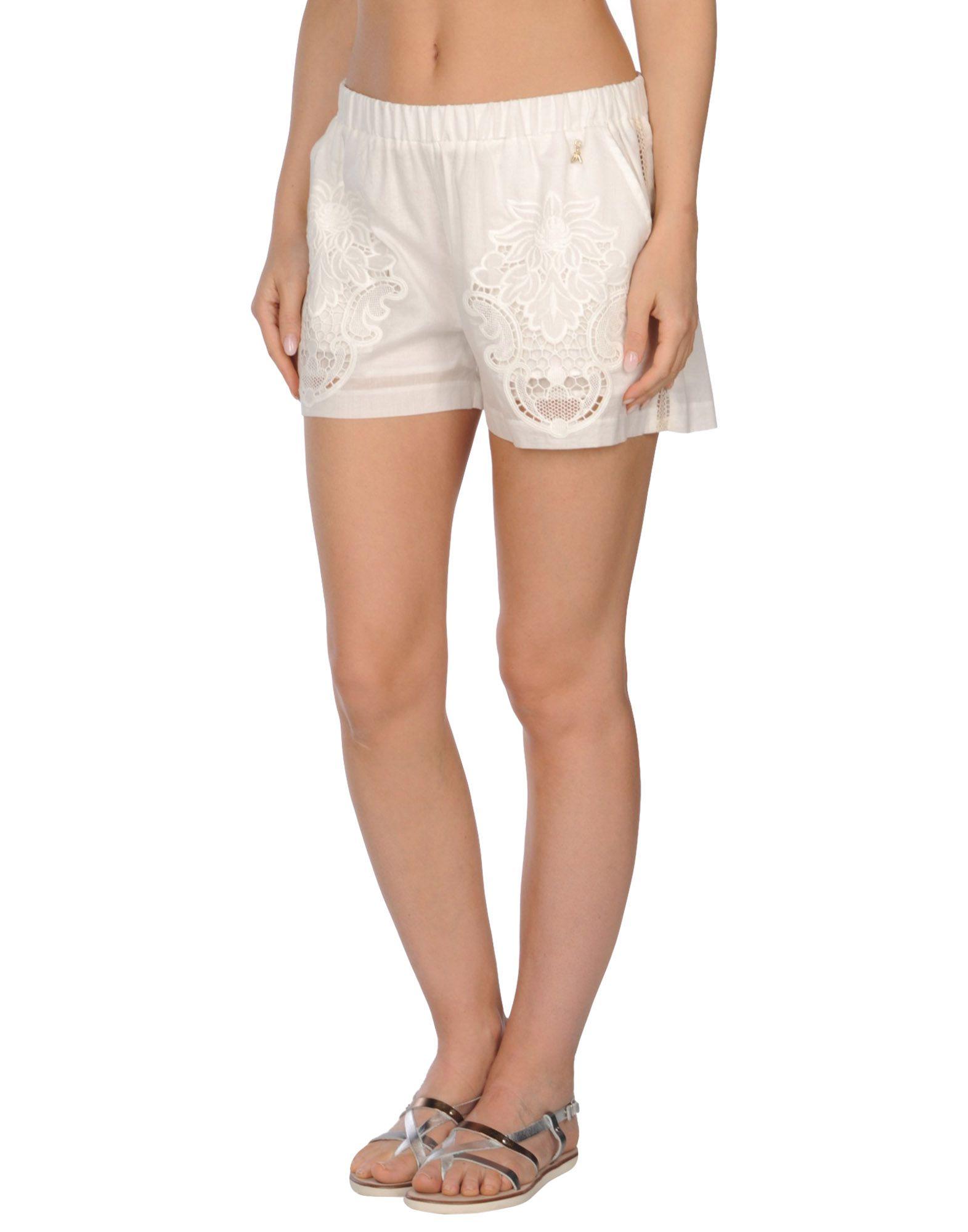 PATRIZIA PEPE Пляжные брюки и шорты patrizia pepe шорты джинсы