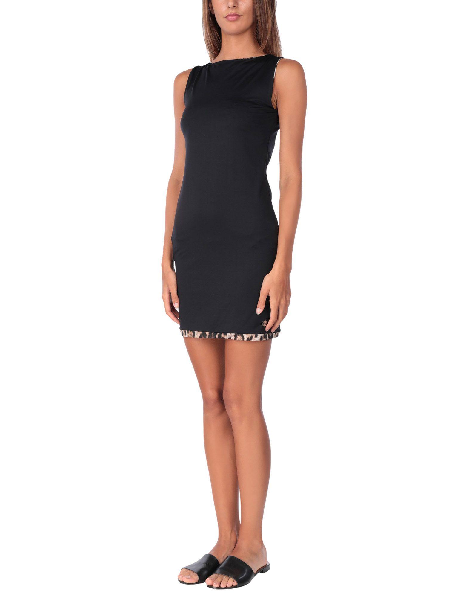 ROBERTO CAVALLI BEACHWEAR Пляжное платье цены