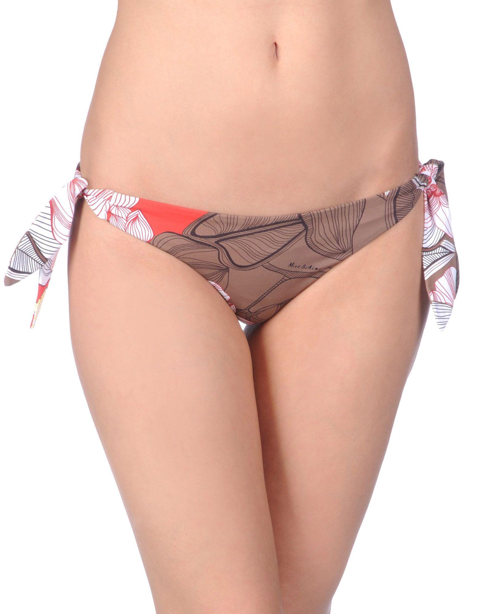 MISS BIKINI Плавки brazilian tanga bikini 2016 swimwear women big bow thong bikini bottom sexy brazilian biquini bralette trajes de bano women