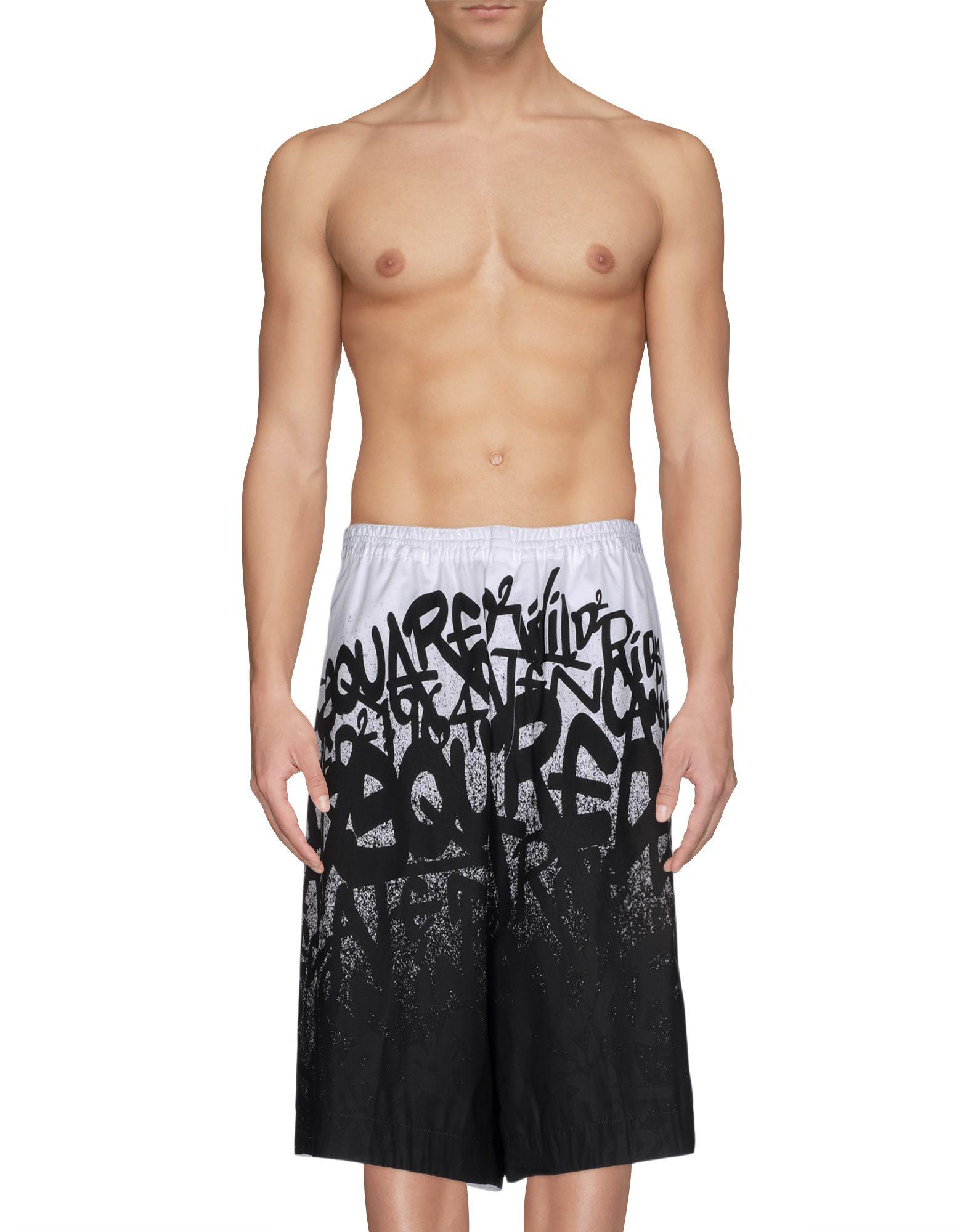 DSQUARED2 Пляжные брюки и шорты