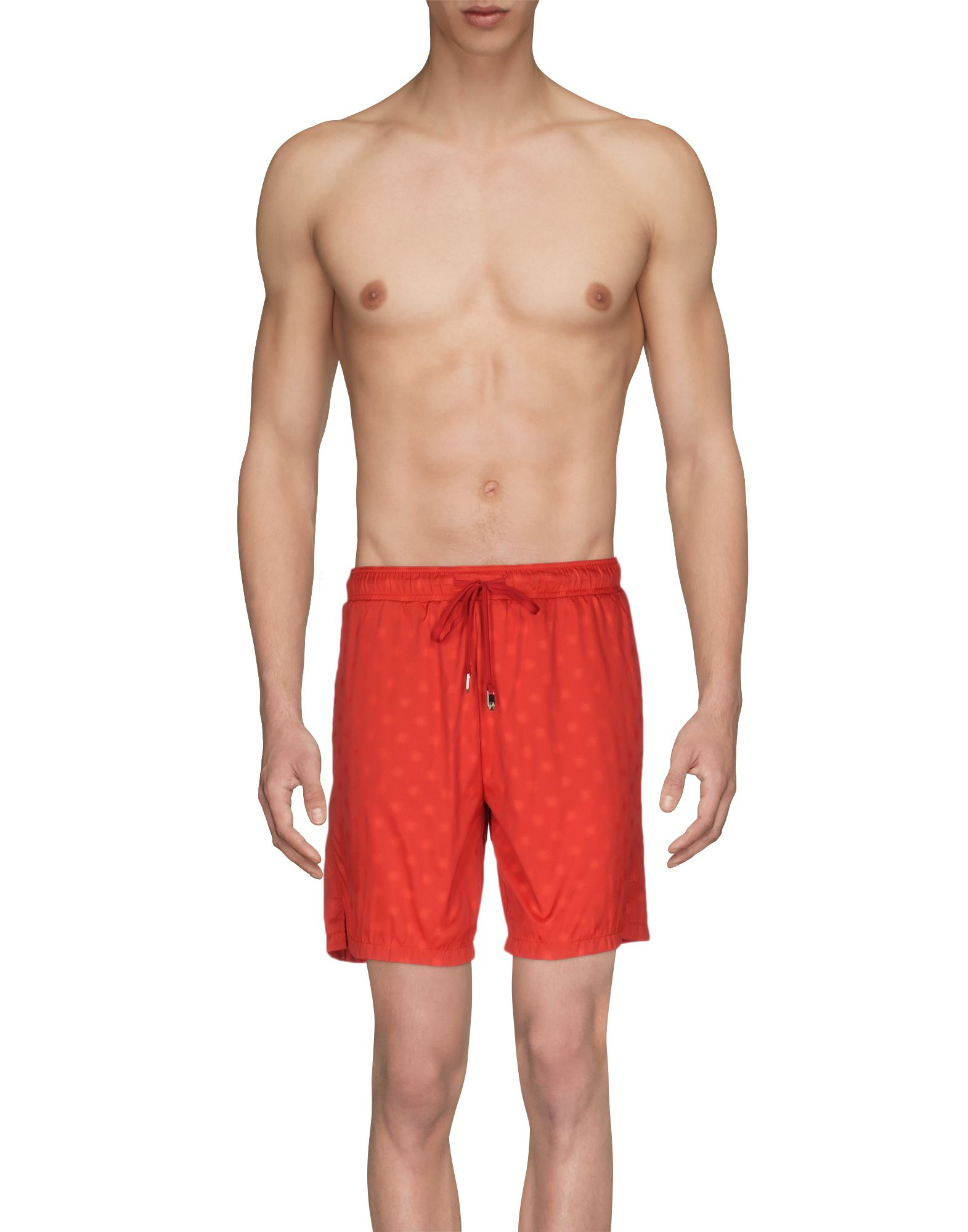 MAKE YOUR ODYSSEY Swim Shorts in Red