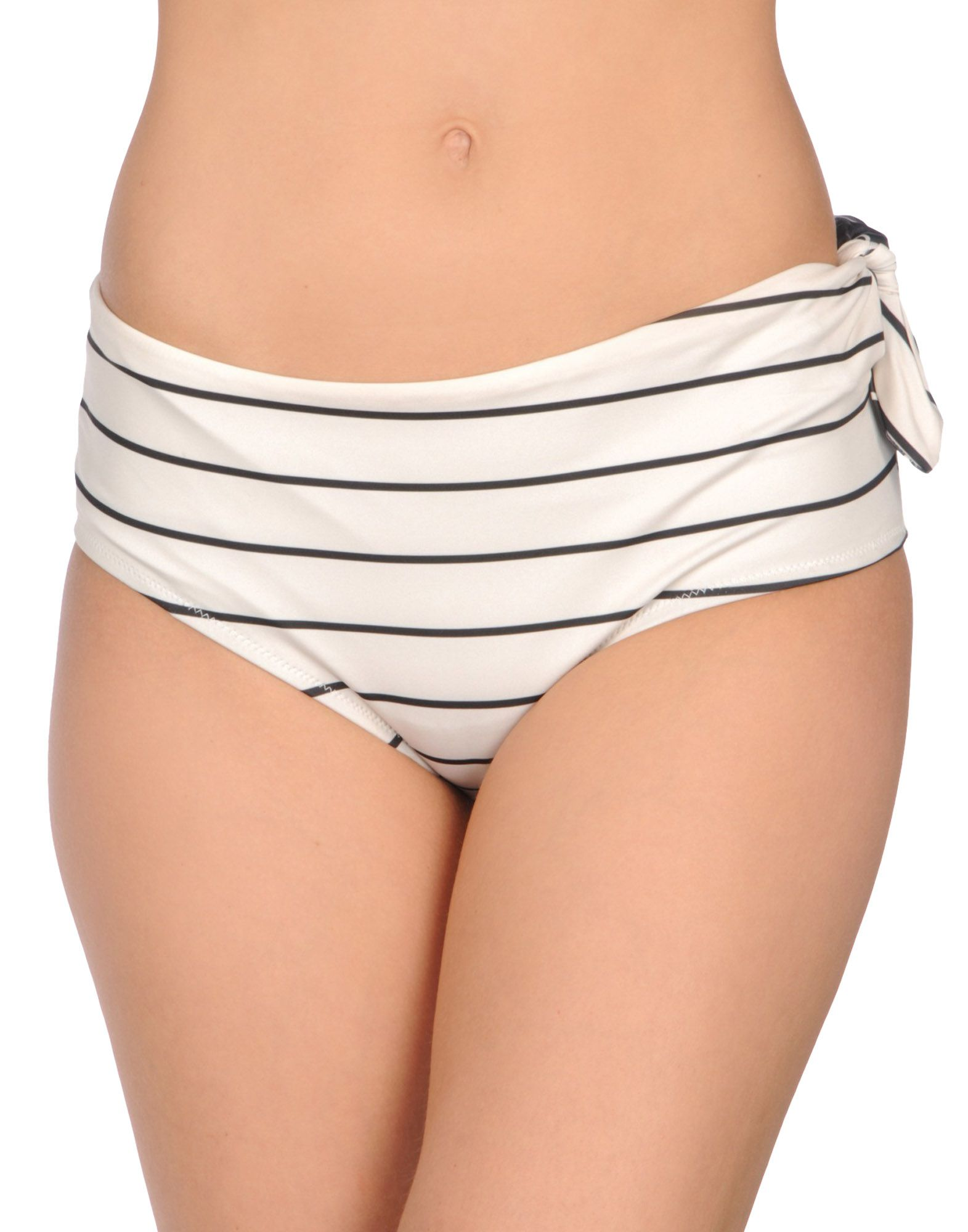 SOLID & STRIPED Плавки adjustable strap striped swimsuit