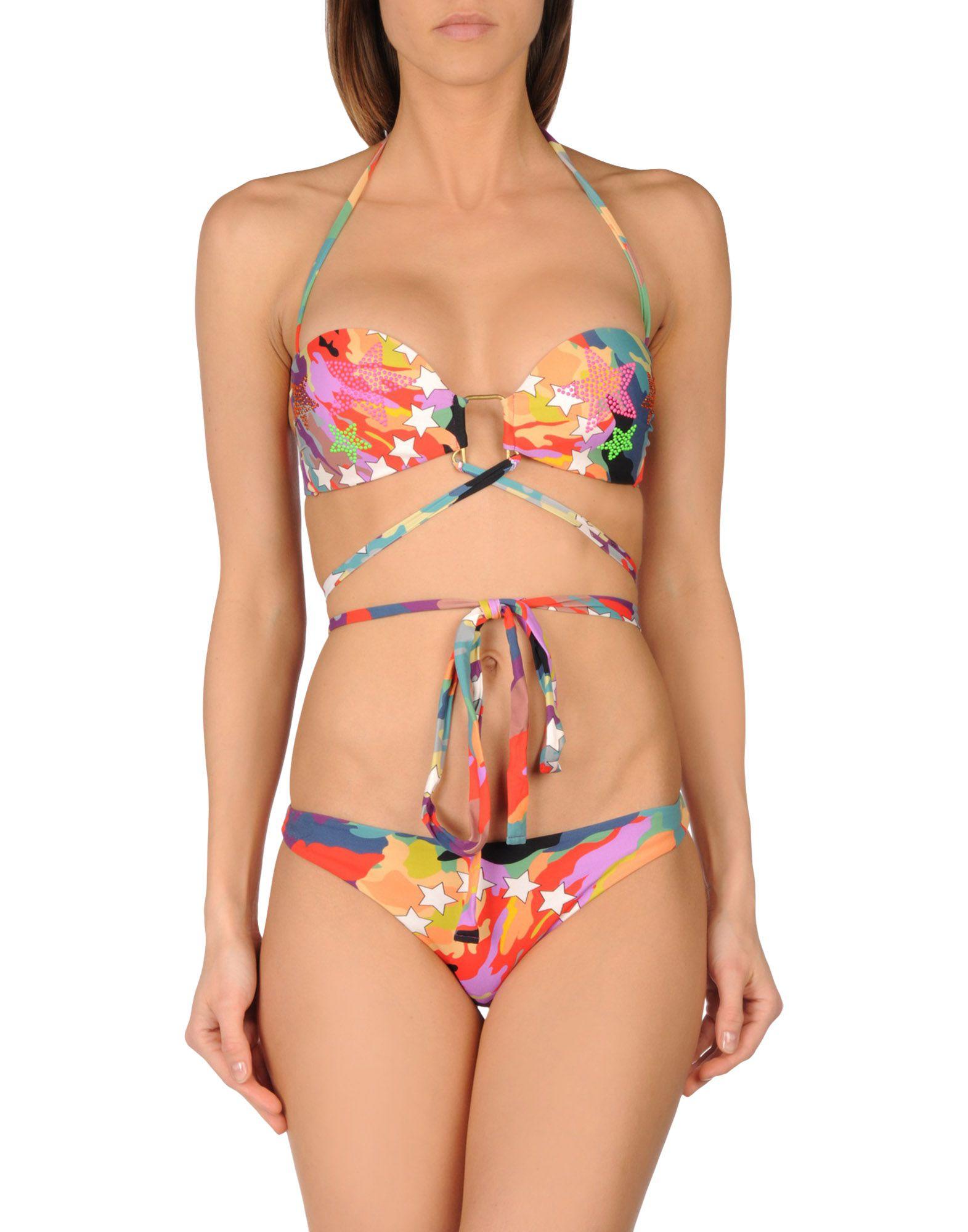 MISS BIKINI LUXE Бикини halter crisscross cropped bikini set