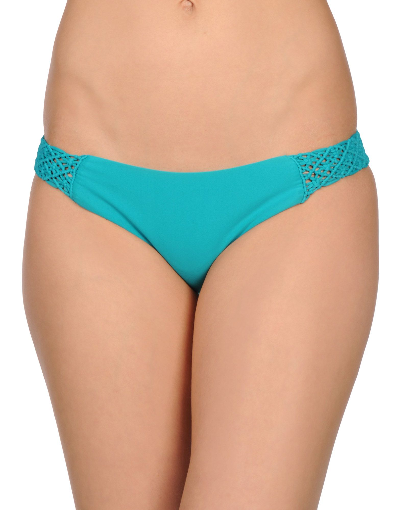 TORI PRAVER SWIMWEAR Плавки halter mesh panel zipper cut out swimwear