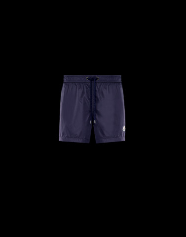 BOXER SHORTS Dark blue Pants