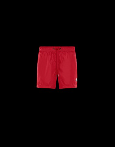 SWIM SHORTS Red Pants Man